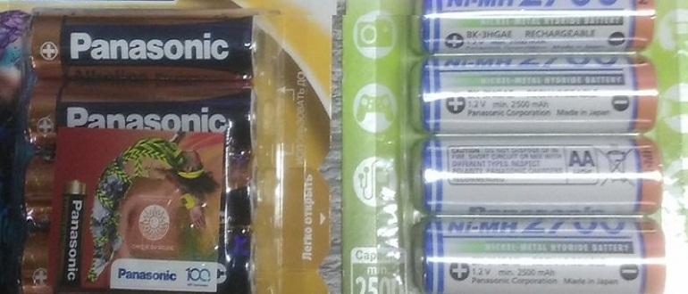 Как отличить батарейку от аккумулятора