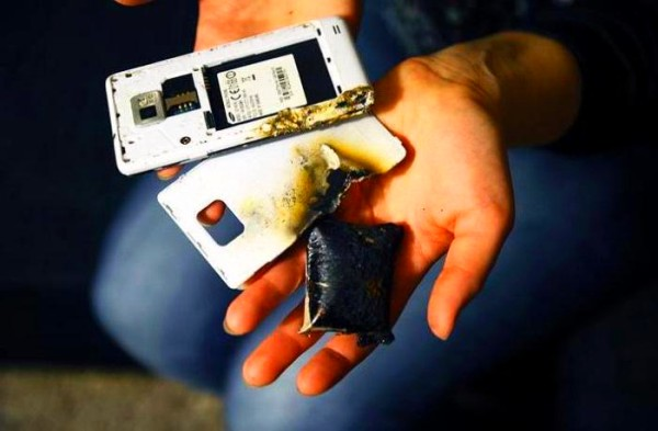 Взрыв батареи