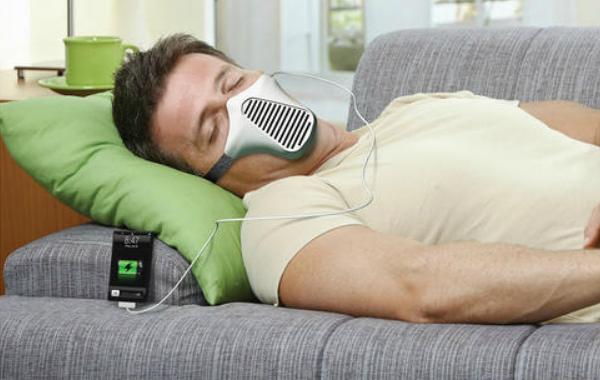 Зарядка от дыхательной маски