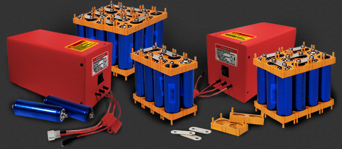 Батареи для электровелосипедов